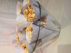 Cornets pop-corn MTBP par Happy Cream à la 1ère MTBP lilloise