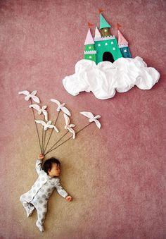 foto criativa de bebê - 2