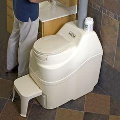 Sun-Mar Centrex 3000 Non-Electric Low Flush Composting System ...