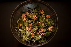 Arugula Salad with Parmesan and Toasted Walnuts