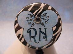 RN Badge Reel, Retractable ID Badge Holder, Nurse Badge Reel, Nurse Badge Holder, Nurse Gift, Id Badge Reel, Stethoscope ID Tag by sparklinghope on Etsy https://www.etsy.com/listing/522283760/rn-badge-reel-retractable-id-badge