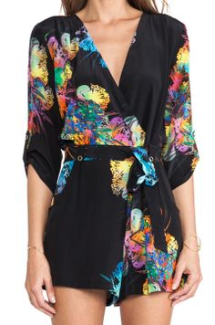 Adorable romper with bright splashes of color. #summer #comfycute