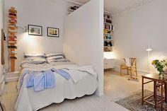 [Decotips] Cómo dividir ambientes en un dormitorio abierto | Decorar tu casa es facilisimo.com