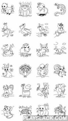 Kids Coloring ( Land Animals )  Android App - playslack.com , 1. You can fill your favorite colors on the outline sketch only by touching the screen.2. You shall enjoy coloring and learning about various colors.3. This will help you to improve your ability - To recognize hues, lightness and chroma of colors  - To find the harmony of colors - To combine colors4. Your potential artistic talent will be evoked by this amazing coloring app.5. You might want to use the following functions for your…