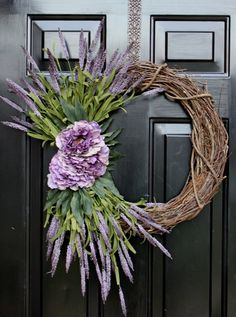 Summer Wreath Spring Wreaths Spring Decorations by OurSentiments, $62.00