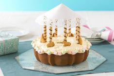 Merry-Go-Round Cake recipe via kraftrecipes.com