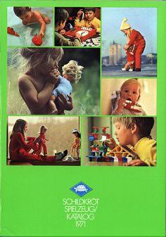 Speilzeug (Toys) Produkt Katalog, West Germany, 1971, by Schildkröt.
