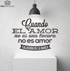 Adesivi Murali Cuando el amor no es. Wierd Quotes, Great Quotes, Love Quotes, Funny Quotes, Motivational Phrases, Inspirational Quotes, Classic Quotes, The Ugly Truth, Wedding Store