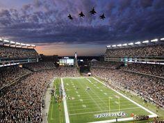 New England Patriots | New England Patriots Stadium Widescreen HD Wall (2544) Sport ...