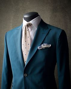 """1790b43e6b6e3 KING & BAY on Instagram: """"RICH TEAL Take a look at this fresh KING & BAY Teal  Suit. Its colour is a fantastic tone for the upcoming spring season as it  ..."""