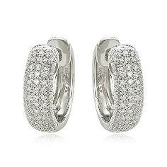 #Diamond #earring hoops at Frost and Co.