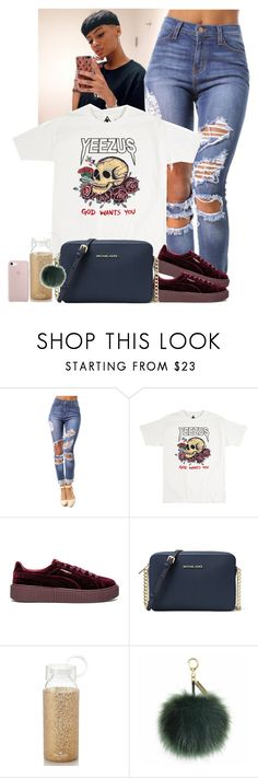 """"" by jemilaa ❤ liked on Polyvore featuring Puma, MICHAEL Michael Kors, Kate Spade and Helen Moore"