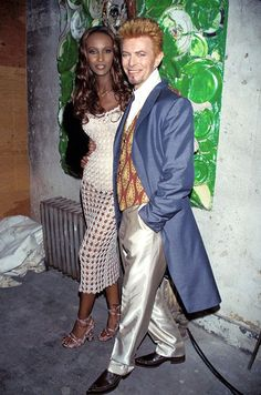 David Bowie was Ziggy Stardust, Aladdin Sane, The Thin White Duke. A dapper gentleman and a stylish freak. During his life, he was as… David Jones, Mr And Mrs Jones, Iman And David Bowie, David Bowie Fashion, Iman Bowie, Angela Bowie, Trevor Bolder, Duncan Jones, The Thin White Duke