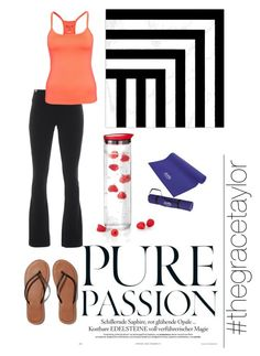 """""""Work Out Wear #gracestyle"""" by graciep0o on Polyvore featuring Abercrombie & Fitch, Wildfox, Blomus and West Elm"""