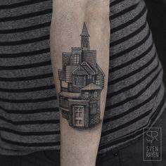"""Crossbreed house on Jasper. Thanks for choosing one of my designs  follow: @jaspervangestel Nice animations!"""