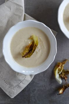 Nordic Roasted Cauliflower Soup (Blomkålsuppe) with Brown Butter and Cardamom | Recipe at Outside Oslo, a Scandinavian food blog by Daytona Strong