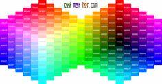 colors | Hex Colors Codes Palette Chart Wheel HTML Hexadecimal Triplets