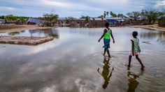 """WORLD VISION has staged five semi truckloads of relief supplies to be ready for a rapid response, says Nate Youngblood, domestic disaster response director. They include hygiene kits, food kits, cleaning supplies for """"mucking out"""" after flooding, and children's toys and backpacks. Hurricane Matthew aid"""