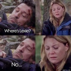Just thinking of the episode make me want to burst out crying ! It also makes me miss Derek!!