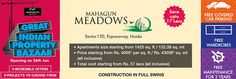 https://flic.kr/p/CR7fx6 | Big Size of Flats Available for Mahagun Meadows | Mahagun Meadows, Noida Extension is also strategically located connecting excellently to landmark places such as the National Capital, Ghaziabad and Noida. The easy transport and road connectivity makes the project further attractive to the home buyers. In close proximity to the project lie many reputed hospitals, schools, offices, and places of recreation, widening your horizon of choices. Mahagun Meadows price…