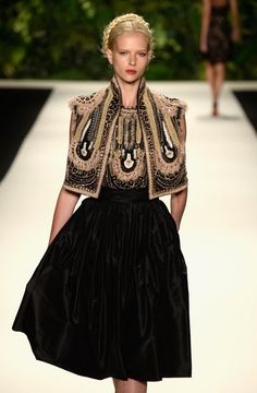 Naeem Khan SS14 collection for NYFW.