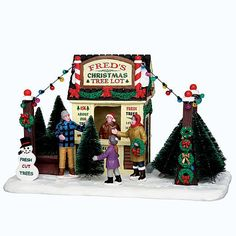Coventry Cove by Lemax Christmas Village Table Accent  Fred'S Christmas Tree Lot