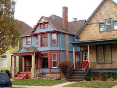 This house is on Leverette Street in the Corktown neighborhood of Detroit.