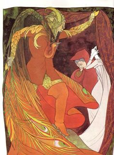 Illustration by Hilary Knight from Beauty and the Beast