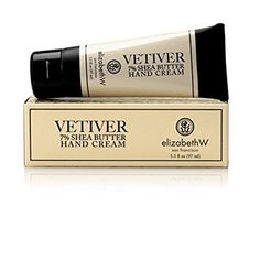 Elizabeth W 7 Shea Butter Hand Cream Vetiver -- Visit the image link more details. (This is an affiliate link) Shea Butter Cream, Nail Treatment, Avocado Oil, Earthy, Moisturizer, Fragrance, Alcohol, Skin Care, Lotions