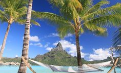 Bora Bora. (From: 40 Islands You'd Love To Be Stranded On)