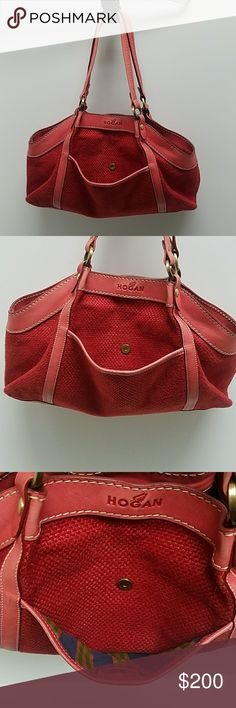 1ce23e1b2046a Authentic Hogan purse. Size large This purse is in great used condition  please refer to