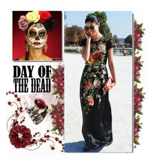 """""""Day of the Dead"""" by megalyssa ❤ liked on Polyvore featuring Delettrez and Dayofthedead"""