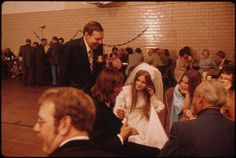 1975, Wedding Dance Held in the Turner Club Gymnasium in New Ulm, Minnesota Following the Church Ceremony... | Flickr - Photo Sharing!