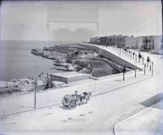 Triq it-Torri Sliema, Malta. Malta Sliema, Malta Gozo, Old Images, Old Pictures, Old Photos, Malta History, Malta Beaches, Lisa, Malta Island