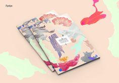 Repinned // Inspiration for handmade book/magazine. Anastasia Alekseeva by Alexandra Matokhina, via Behance.