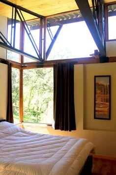 Diseño dormitorio techo alto My House, House Plans, Curtains, Country, Architecture, Simple, Home Decor, Social, Alternative