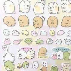 Cute Stickers, Sumikkogurashi Sticker, Japanese Sticker