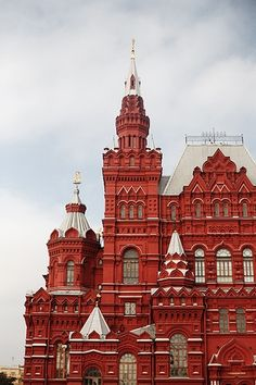 Red Square, Moscow such an amazing architecture..