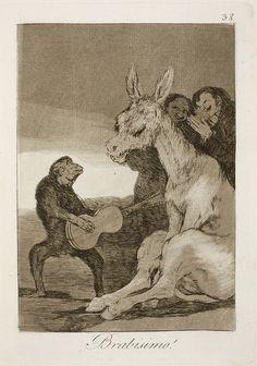 Museo del Prado - Goya - Caprichos - No. 38 - Brabisimo!  - Caprichos - Wikipedia. PINNED by My Art y Lezama