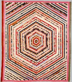 OMGoodness! Susan McCord's Hexagon Mosaic antique quilt