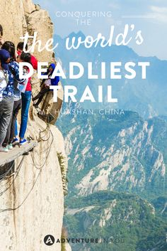 Do you have what it takes to conquer the world's deadliest trail in China?