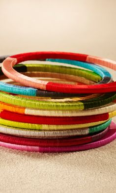 silk thread bangle