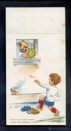 Postales: Ilustrador *Mouro* Ed. Colón - Benisi serie nº 139-4. Escrita. - Foto 2 - 4256733