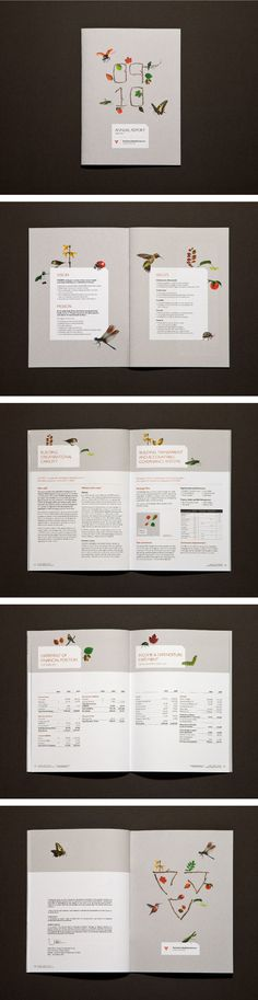 by Kristy Brown @ Studio Binocular  - VICSERV Annual Report 2009/10