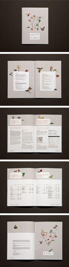 by Kristy Brown @ Studio Binocular - VICSERV Annual Report 2009/10