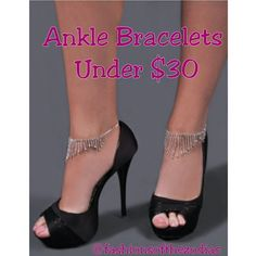 Anklets now Available for under $30 shop today. Enter code FOTZ5 to recieve an extra 5% off your order! Free shipping on orders over $100. #Fashionsofthezodiac #UnleashyourZODIAC #Pisces #Aquarius #anklebracelets #Anklets  #fashion #fashiondesigner #fashionista #fashionkiller #fashionblogger #style #stylist #celebrity #summerfashion #springfashion #weheartit #Womenwear #women #boutique #trends