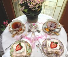 Afternoon Tea with a Friend