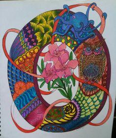 Opulant O Flower Alphabet, Tableware, Flowers, Art, Art Background, Dinnerware, Tablewares, Kunst, Performing Arts