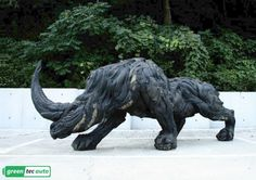 Recycled Tire Art