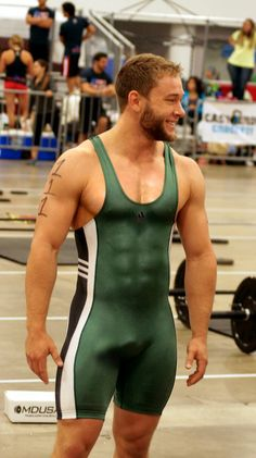 Muscle Men Singlet Wrestling Abs VPL Hot Sexy Men